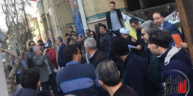 تجمع اعتراضی حواله داران کرمان خودرو در تهران