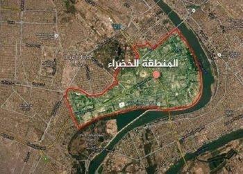 حمله موشکی به منطقه بشدت حفاظت شده مرکز بغداد