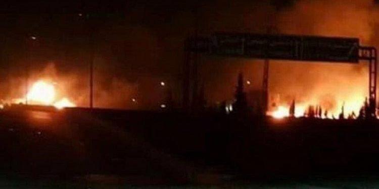 حمله موشکی اسرائیل به مواضع ایران و حزبالله در سوریه