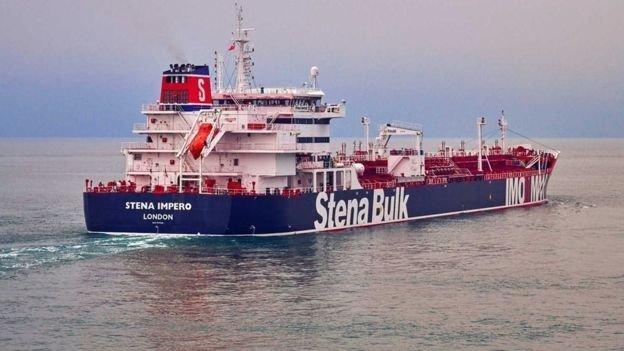 سپاه پاسداران یک نفتکش بریتانیایی را در تنگه هرمز توقیف کرد
