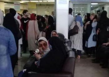 اعتصاب کارکنان بیمارستان آریا در رشت