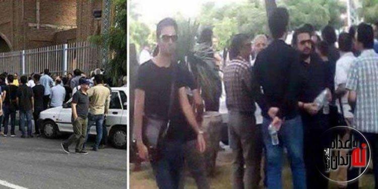 ممانعت از حضور جمعیت بر مزار احمد شاملو توسط نیروهای امنیتی