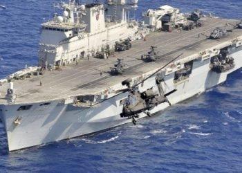 کشف قایق ایرانی بمبگذاری شده در مسیر ناوشکن بریتانیایی در دریای سرخ