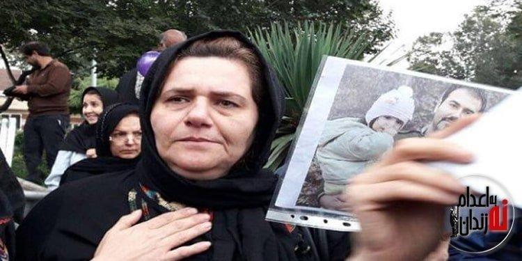 اعتصاب غذای فرنگیس مظلوم مادر سهیل عربی در سلولهای انفرادی زندان اوین