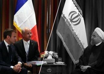فرانسه خبر دعوت ماکرون از روحانی را تکذیب کرد