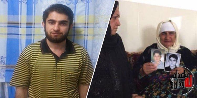 شهرام احمدی و مادرش