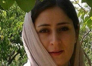 نامه عاطفه رنگریز از زندان قرچک ورامین