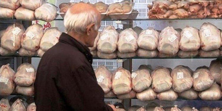 مرغ در دزفول به کیلویی ۲۰ هزار تومان رسید