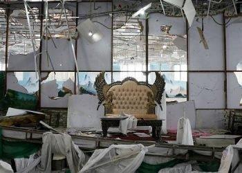 در مراسم عروسی در کابل دستکم ۶۳ کشته و ۱۸۲ زخمی برجا گذاشت