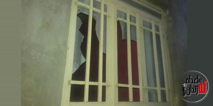 حمله مردم و به آتش کشیدن ساختمان دهیاری سنجر در دزفول