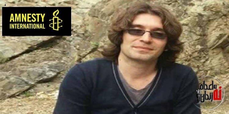 عفو بینالملل : جان آرش صادقی در خطر است