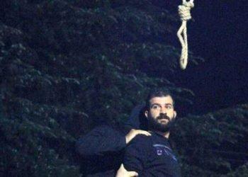 اعدام در ملا عام یک زندانی در رشت به اتهام کشتن یک مامور پلیس همراه با تصاویر