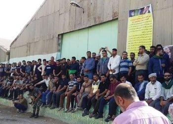 اعتصاب و تجمع کارگران شرکت نیشکر هفتتپه در بیستمین روز