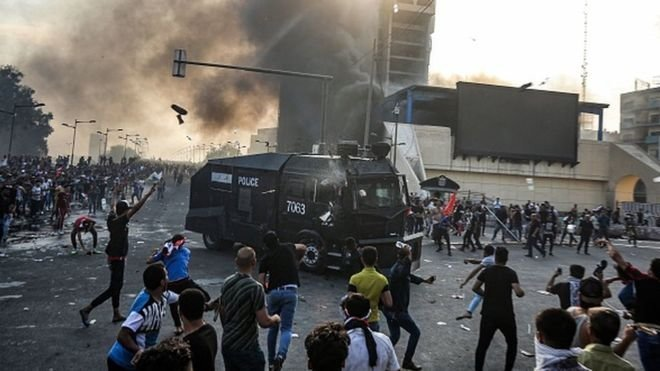 گسترش تظاهرات اعتراضی مردم عراق به سرتاسر کشور