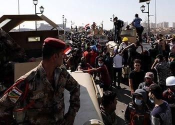 دستور سرکوب تظاهرات مردم عراق در جلسهای به ریاست قاسم سلیمانی