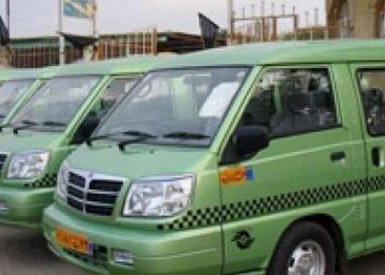 اعتصاب تاکسی های ون در شهرهای بزرگ به دلیل پایان یافتن سهیمه بنزین