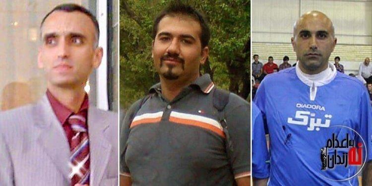 تسليت سه تن از زندانیان سیاسی زندان اوین به خانواده های شهدای راه آزادی