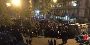 آخرین وضعیت از اعتراضات سراسری دانشجویان دانشگاههای مختلف تهران همراه با مردم