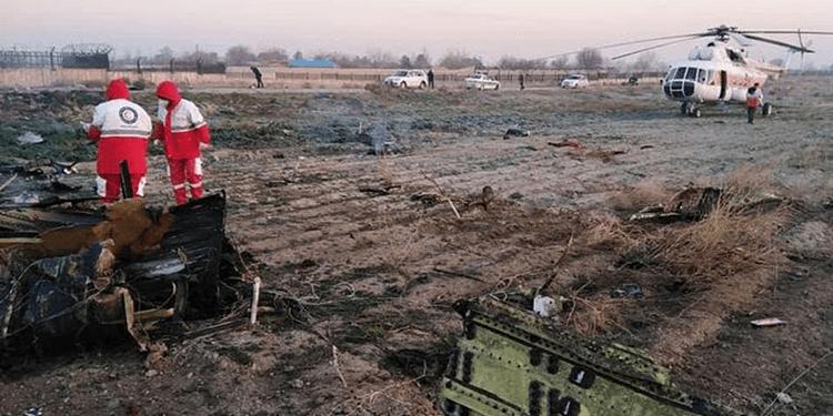 سقوط هواپیمای مسافربری اوکراین همراه با ۱۷۰ سرنشین در نزدیکی تهران