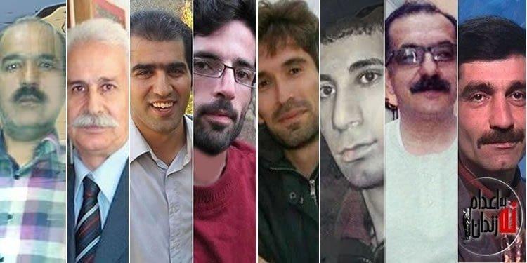زندانیان سیاسی زندان رجایی شهر