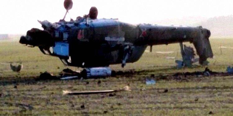 سقوط بالگرد جنگی سپاه در کیلهشین اشنویه و زخمی شدن ۷ عضو سپاه پاسداران