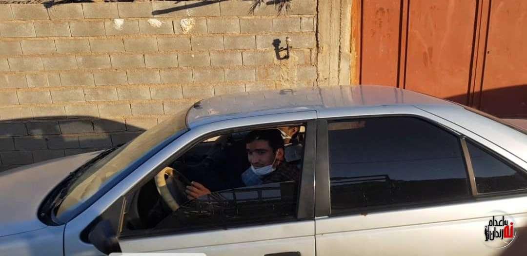 مراسم چهلم نوید افکاری قهرمان ایران